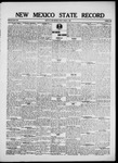 New Mexico State Record, 08-01-1919