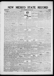 New Mexico State Record, 08-15-1919