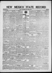 New Mexico State Record, 08-22-1919