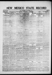 New Mexico State Record, 02-06-1920 by State Publishing Company