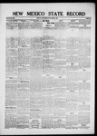 New Mexico State Record, 03-05-1920 by State Publishing Company