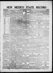 New Mexico State Record, 04-09-1920 by State Publishing Company