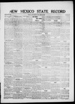 New Mexico State Record, 04-23-1920 by State Publishing Company