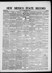 New Mexico State Record, 05-07-1920 by State Publishing Company