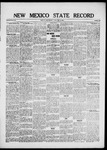 New Mexico State Record, 05-14-1920 by State Publishing Company