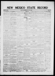 New Mexico State Record, 05-21-1920 by State Publishing Company