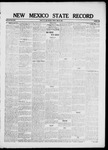 New Mexico State Record, 06-18-1920 by State Publishing Company