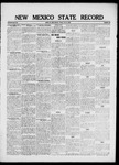 New Mexico State Record, 07-09-1920 by State Publishing Company