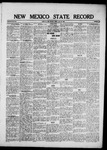 New Mexico State Record, 07-23-1920 by State Publishing Company