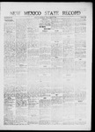 New Mexico State Record, 08-27-1920 by State Publishing Company