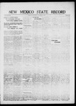 New Mexico State Record, 09-10-1920 by State Publishing Company