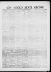 New Mexico State Record, 10-01-1920 by State Publishing Company