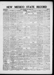 New Mexico State Record, 10-22-1920 by State Publishing Company