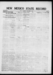 New Mexico State Record, 10-29-1920 by State Publishing Company