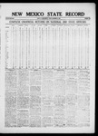 New Mexico State Record, 11-12-1920 by State Publishing Company