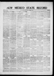New Mexico State Record, 12-03-1920 by State Publishing Company