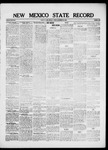 New Mexico State Record, 12-10-1920 by State Publishing Company