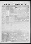 New Mexico State Record, 12-17-1920 by State Publishing Company