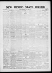 New Mexico State Record, 03-04-1921 by State Publishing Company
