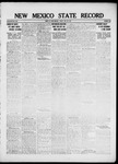 New Mexico State Record, 05-20-1921 by State Publishing Company