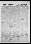 New Mexico State Record, 06-10-1921 by State Publishing Company