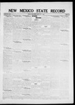 New Mexico State Record, 07-15-1921 by State Publishing Company
