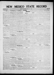 New Mexico State Record, 07-22-1921 by State Publishing Company