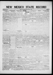 New Mexico State Record, 08-05-1921 by State Publishing Company