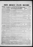 New Mexico State Record, 09-09-1921 by State Publishing Company