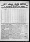 New Mexico State Record, 09-30-1921 by State Publishing Company