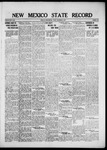 New Mexico State Record, 12-02-1921 by State Publishing Company