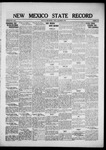 New Mexico State Record, 12-09-1921 by State Publishing Company
