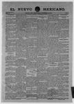 El Nuevo Mexicano, 11-09-1901
