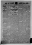 El Nuevo Mexicano, 10-19-1907