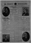 El Nuevo Mexicano, 10-24-1908