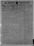 El Nuevo Mexicano, 11-21-1908