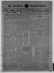 El Nuevo Mexicano, 11-13-1909