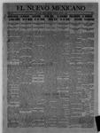 El Nuevo Mexicano, 05-11-1912