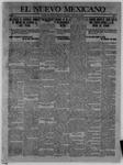 El Nuevo Mexicano, 10-05-1912