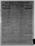 El Nuevo Mexicano, 12-14-1912