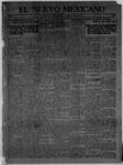El Nuevo Mexicano, 01-11-1913