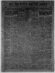 El Nuevo Mexicano, 03-15-1913