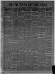 El Nuevo Mexicano, 12-25-1913