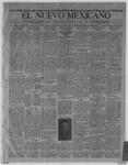 El Nuevo Mexicano, 10-28-1920 by La Compania Impresora del Nuevo Mexicano