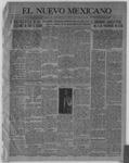 El Nuevo Mexicano, 11-25-1920 by La Compania Impresora del Nuevo Mexicano