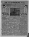 El Nuevo Mexicano, 12-23-1920 by La Compania Impresora del Nuevo Mexicano