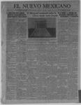 El Nuevo Mexicano, 02-10-1921 by La Compania Impresora del Nuevo Mexicano