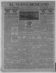 El Nuevo Mexicano, 05-12-1921 by La Compania Impresora del Nuevo Mexicano