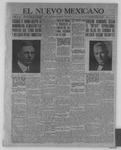 El Nuevo Mexicano, 08-25-1921 by La Compania Impresora del Nuevo Mexicano