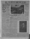 El Nuevo Mexicano, 09-08-1921 by La Compania Impresora del Nuevo Mexicano